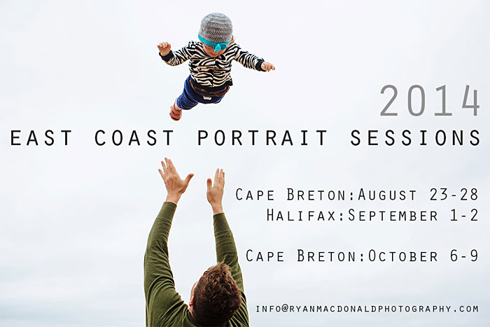 East Coast Portrait Session Dates