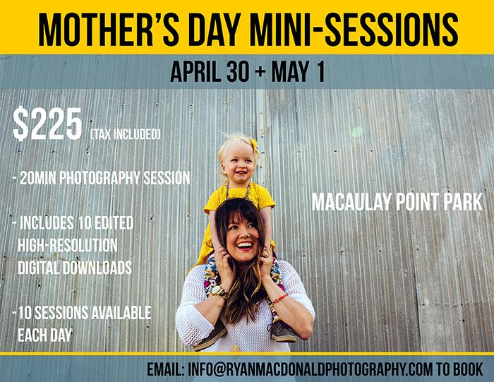 mothers day mini session victoria bc