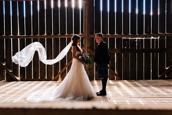 bird's eye cove farm wedding