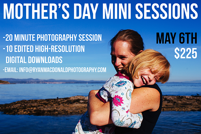 Mother's Day Mini Sessions - Victoria BC