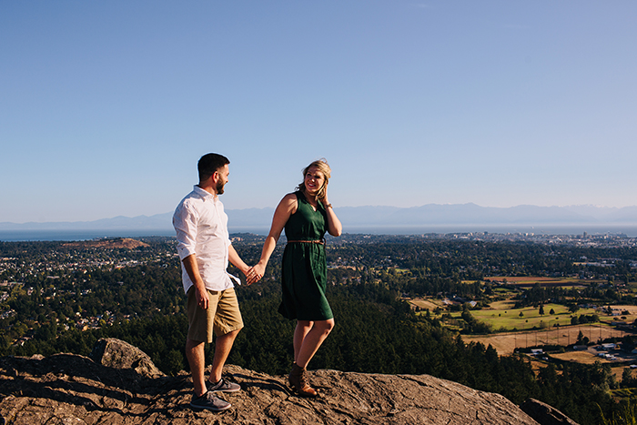 Victoria BC Engagement Photos